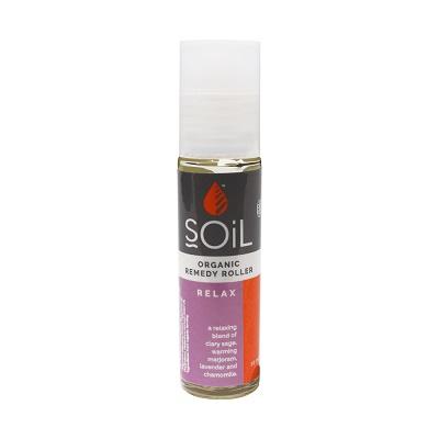 Roll-On Relax cu uleiuri esentiale pure organice ECOCERT, 11ml, Soil drmax.ro