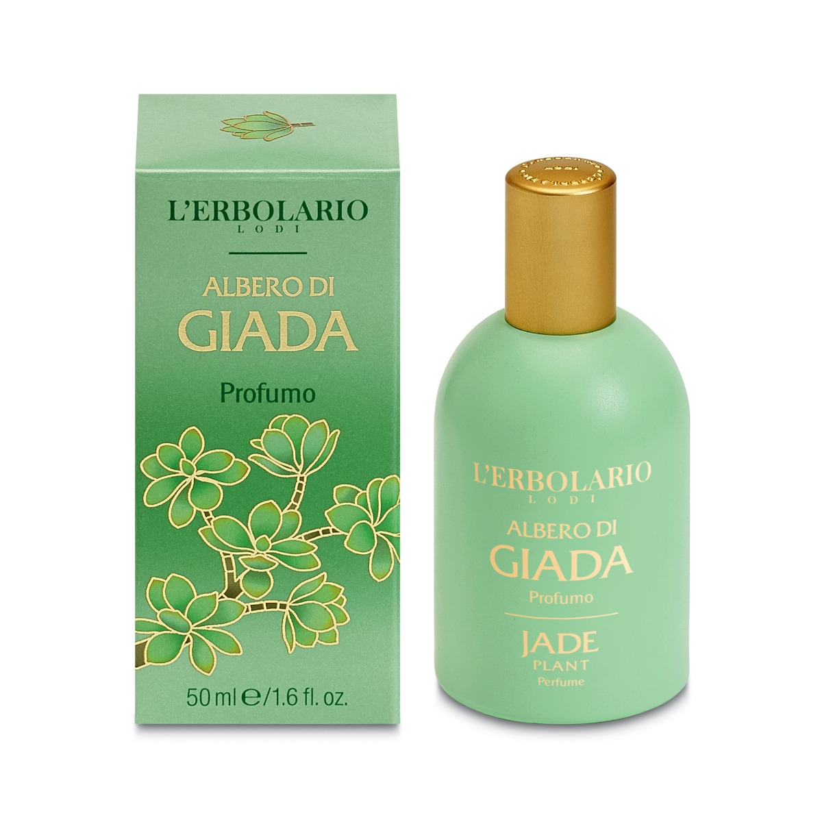 Apa de parfum Jade, 50ml, L'Erbolario imagine produs 2021