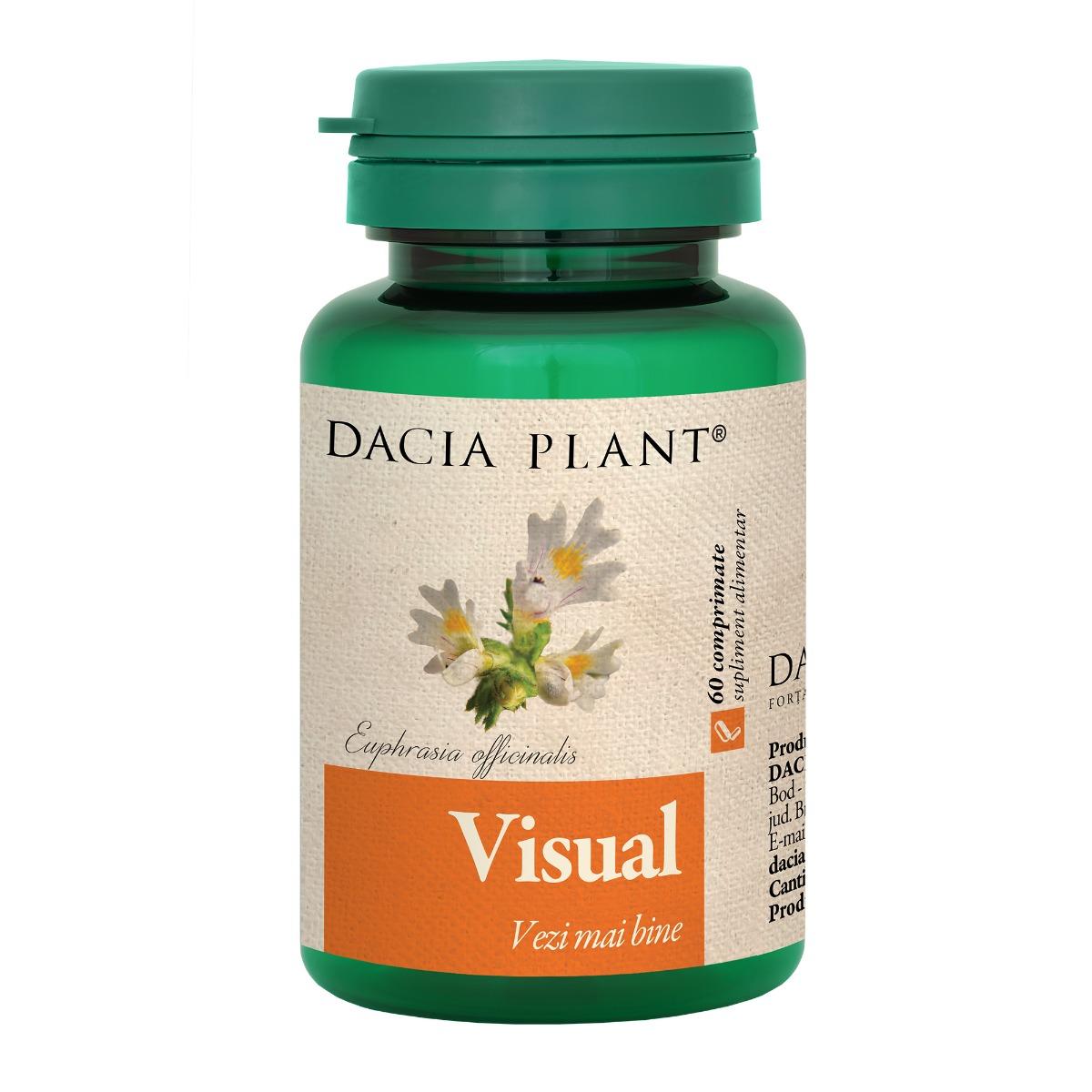 Visual, 60 comprimate, Dacia Plant drmax.ro