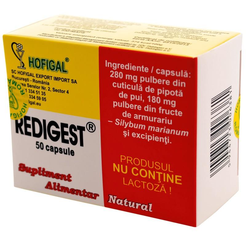 Redigest, 50 capsule, Hofigal imagine produs 2021