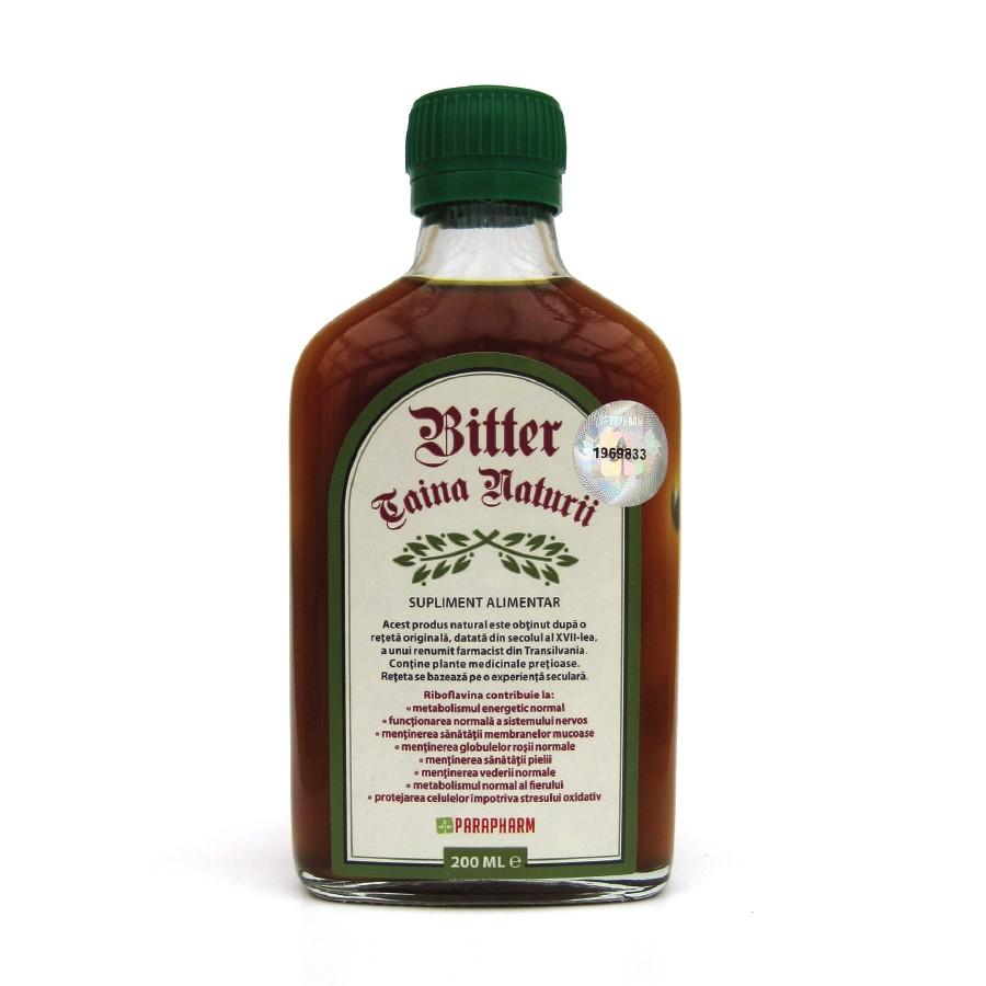 Bitter Taina Naturii, 200 ml, Parapharm drmax.ro