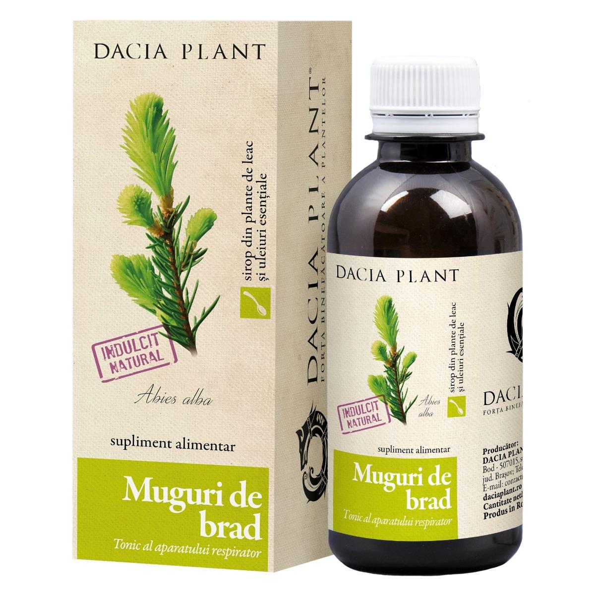 Sirop Muguri de brad, 200 ml, Dacia Plant drmax.ro