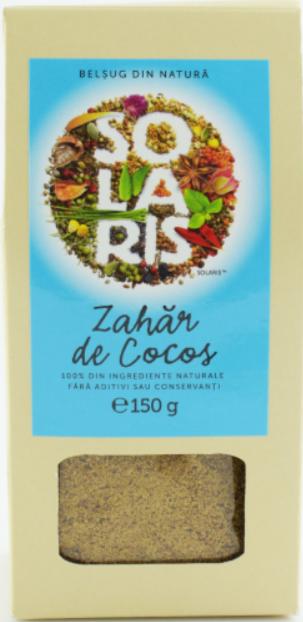 Zahar de cocos, 150g, Solaris drmax.ro