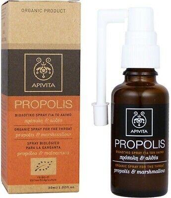 Spray pentru Gat cu Propolis, 30ml, Apivita imagine produs 2021