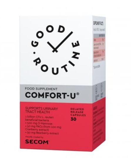 Comfort-U Good Routine, 30 capsule, Secom drmax poza
