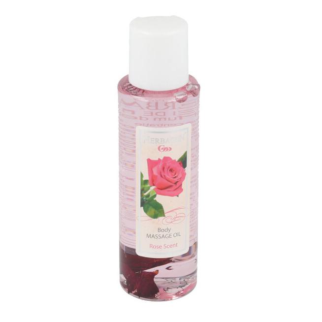 Ulei pentru masaj cu trandafir, 100ml, Herbagen
