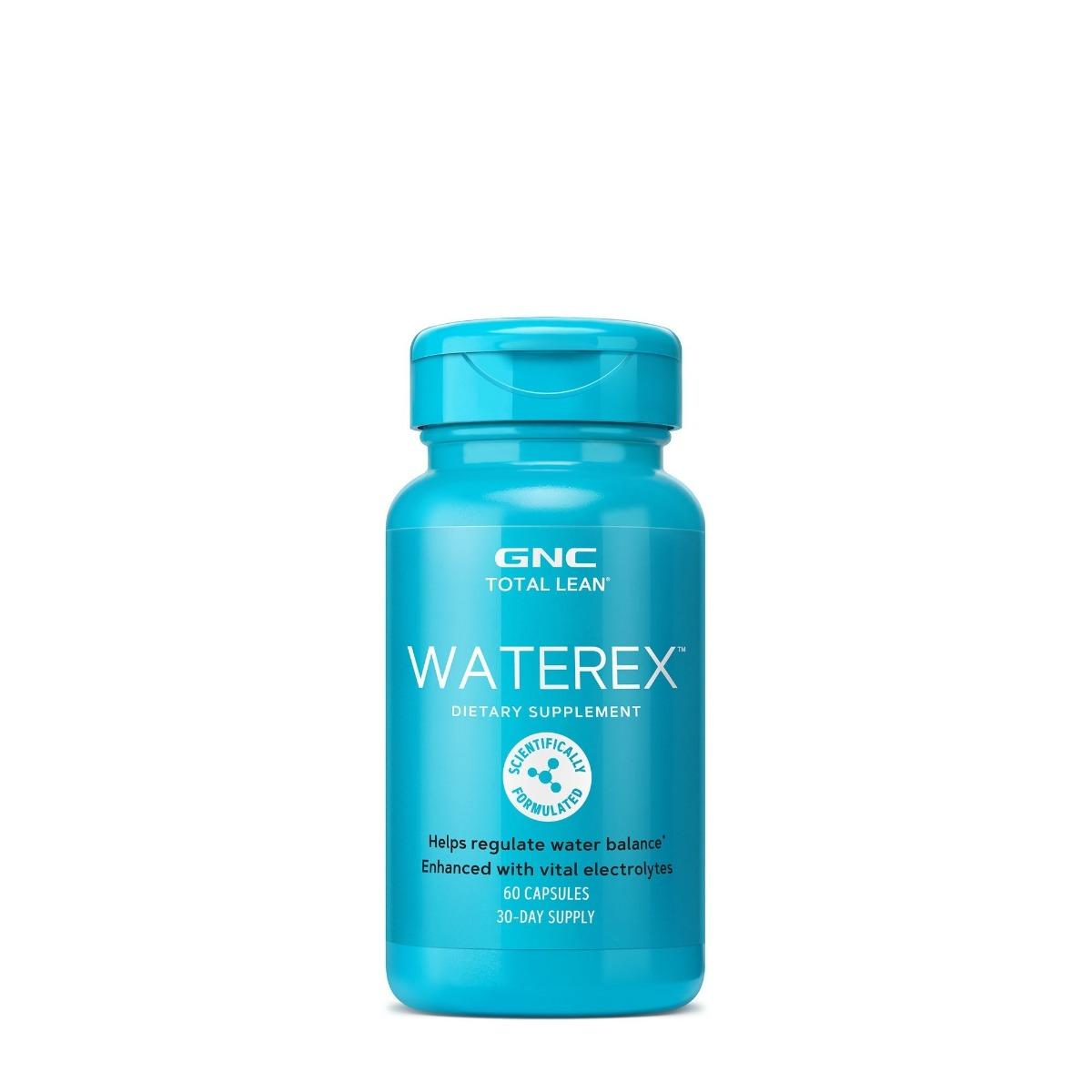 Waterex, 60 capsule, GNC imagine produs 2021