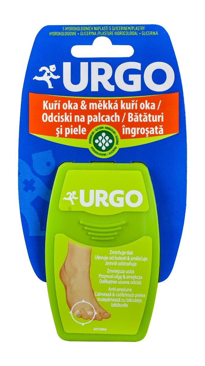 Plasturi pentru bataturi 2 x 5 cm, 5 bucati, Urgo