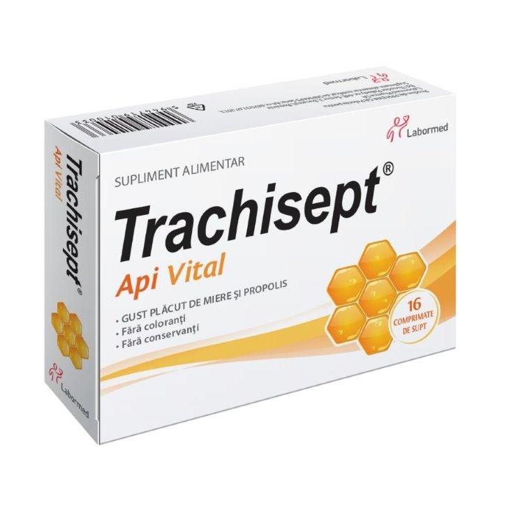 Trachisept Api Vital, 16 comprimate, Labormed drmax poza