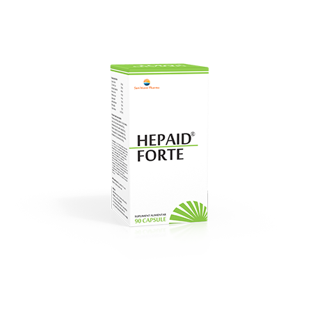 Hepaid Forte, 90 capsule, Sunwave imagine produs 2021