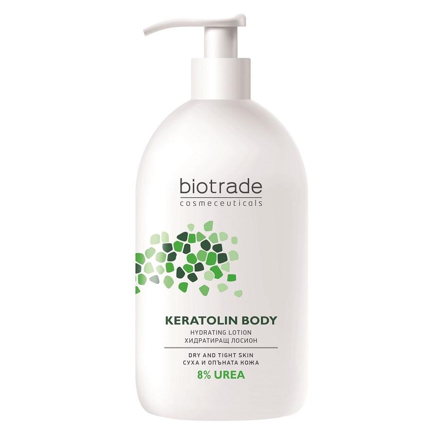 Lotiune de corp cu 8% uree Keratolin Body, 400ml, Biotrade drmax.ro