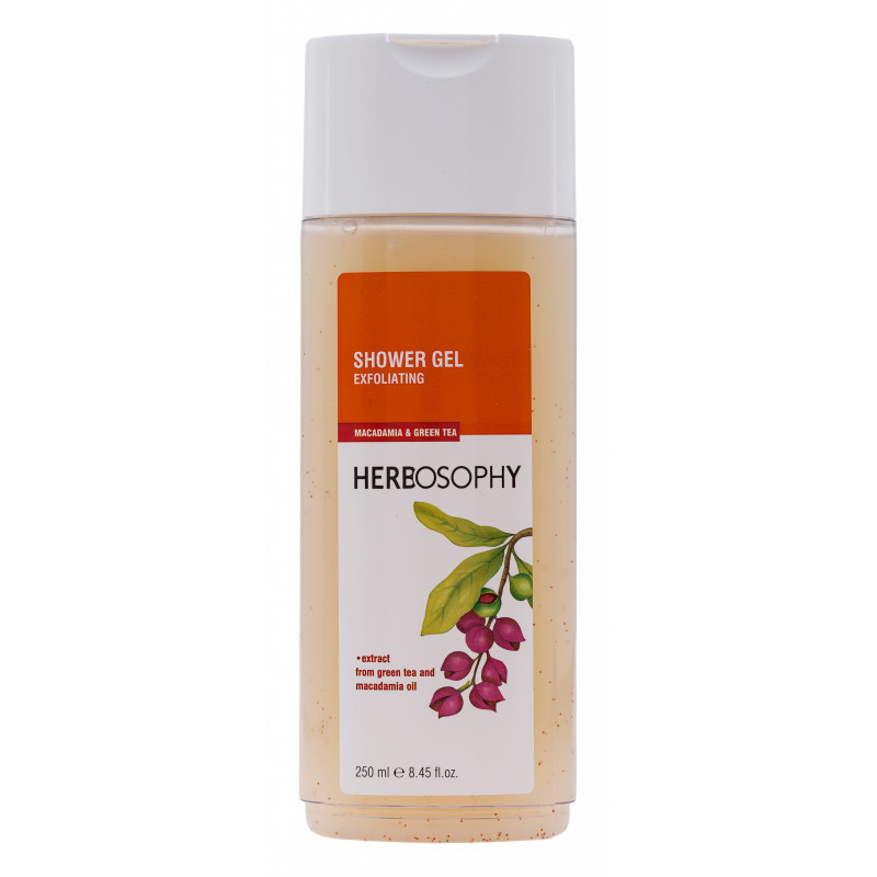 Herbosophy, Gel de dus Macadamia & Ceai verde, 250ml imagine produs 2021