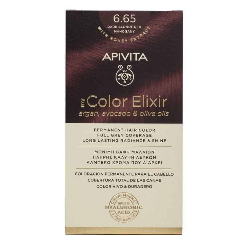 Vopsea My Color Elixir, N6.65, Apivita drmax.ro
