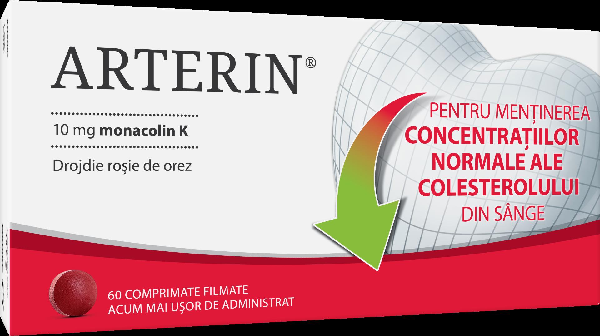 Arterin, 60 comprimate, Omega Pharma la preț mic imagine