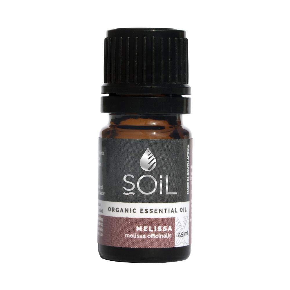 Ulei Esential Roinita (Melissa officinalis) 100% Organic Ecocert, 2.5ml, Soil drmax.ro