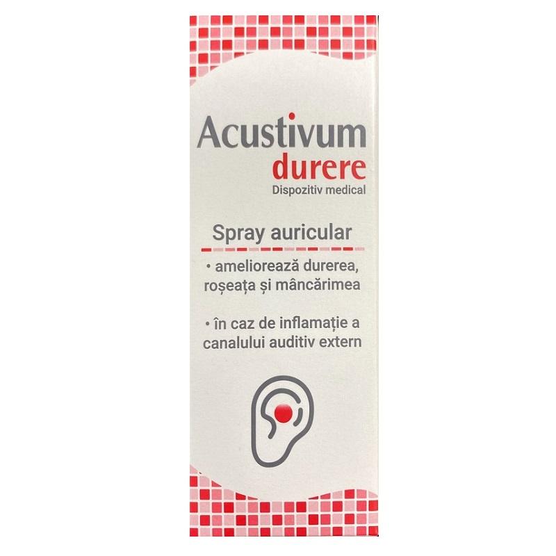 Spray auricular Acustivum, 20ml, Zdrovit drmax poza