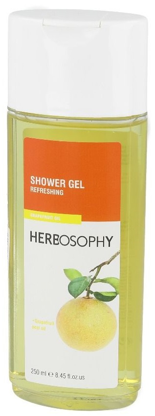 Herbosophy, Gel de dus cu extract de grapefruit, 250ml imagine produs 2021
