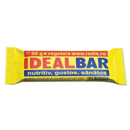 Baton proteic Ideal Bar, 50 g, Redis imagine produs 2021