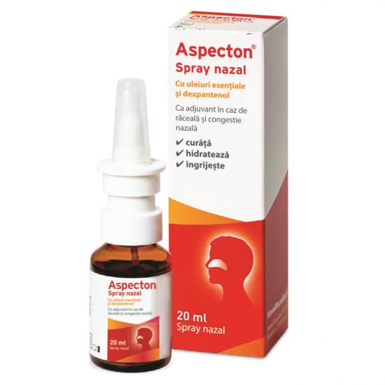 Spray nazal cu uleiuri esentiale Aspecton, 20ml, Krewel Meuselbach drmax.ro