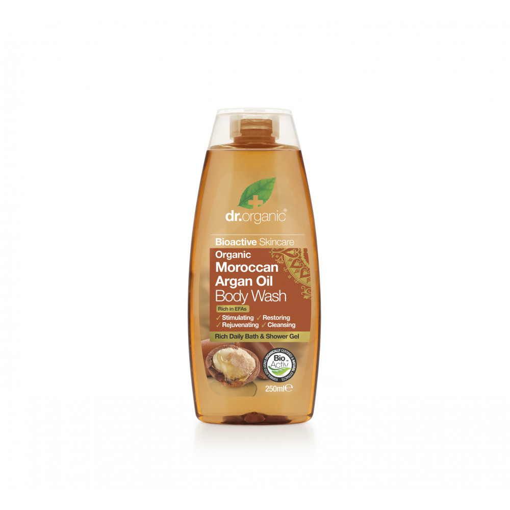 Gel de dus cu Argan, 250ml, Dr. Organic imagine produs 2021
