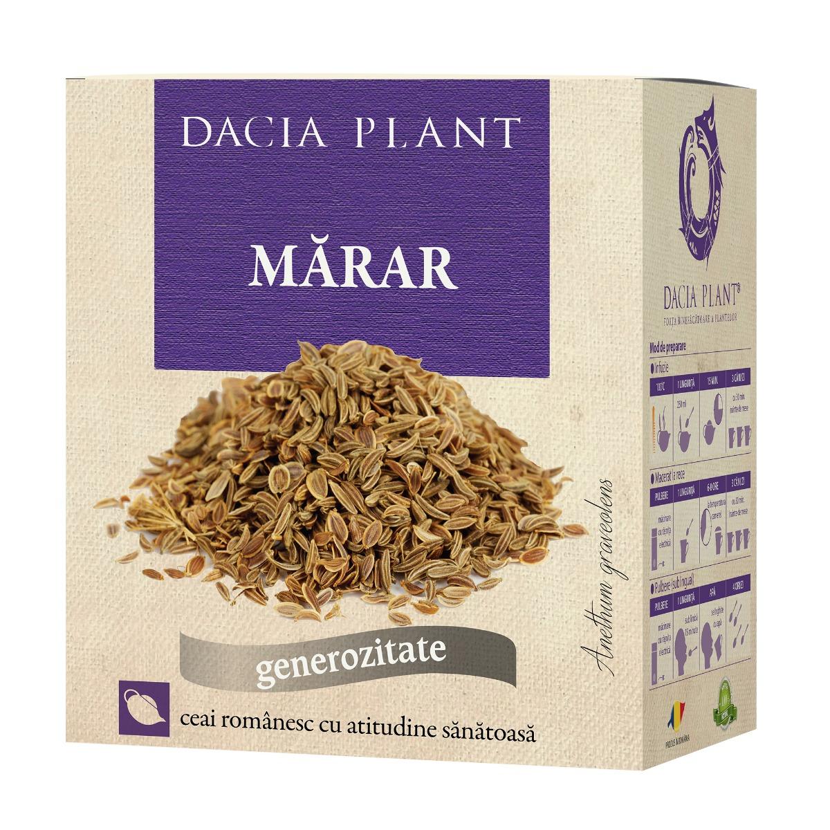Ceai de marar, 100g, Dacia Plant drmax.ro