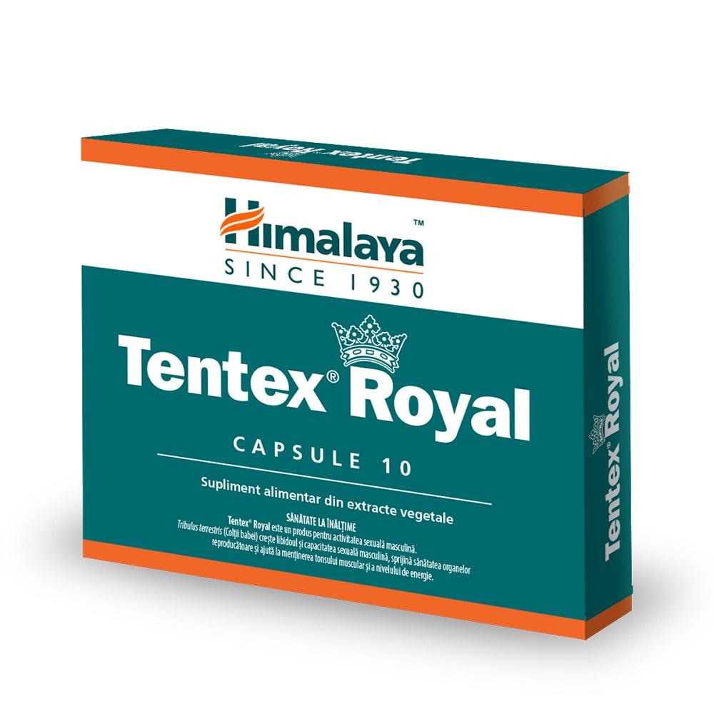 Tentex Royal, 10 capsule, Himalaya drmax.ro