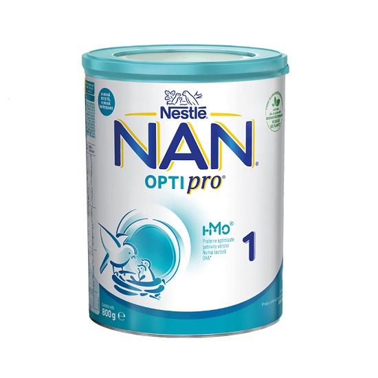 Lapte praf Nan 1 Optipro HM-O Premium, incepand de la nastere, 800 g, Nestle drmax.ro