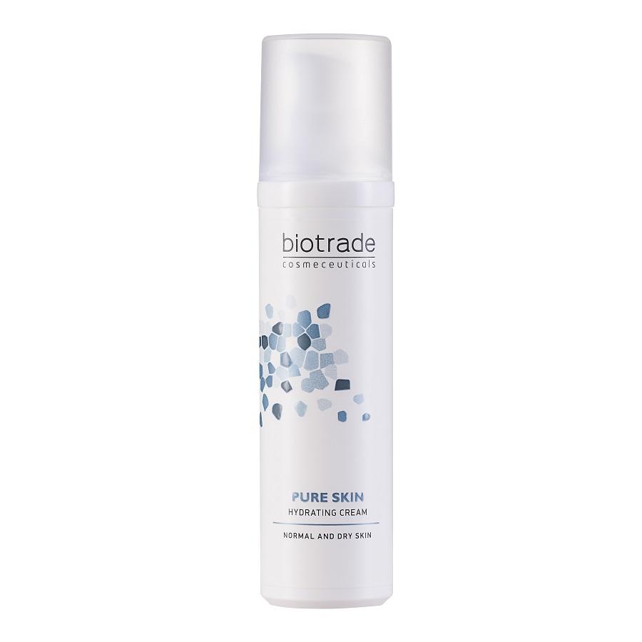 Crema hidratanta si revitalizanta pentru fata Pure Skin, 50ml, Biotrade imagine produs 2021