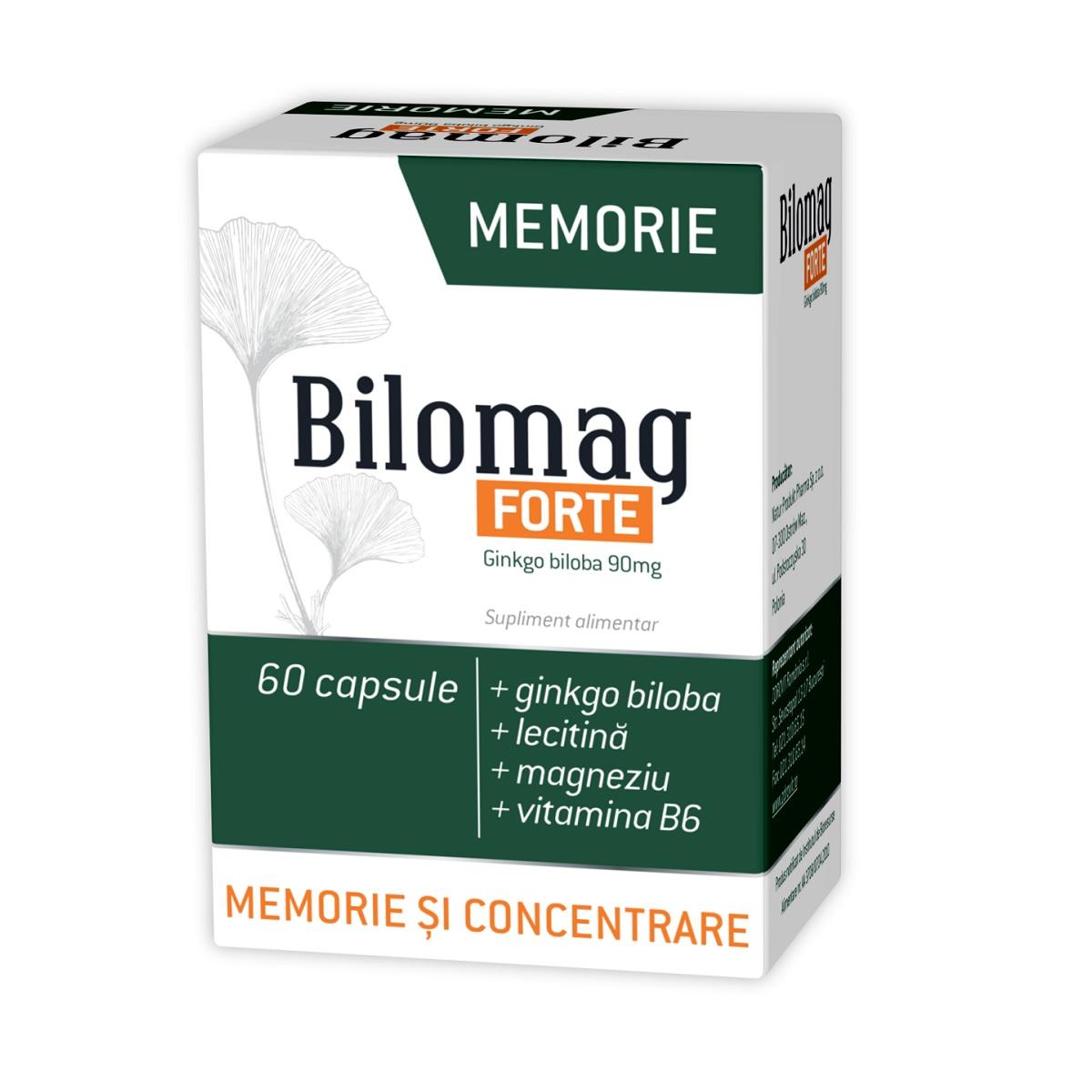 Bilomag forte memorie, 60 capsule, Zdrovit drmax poza