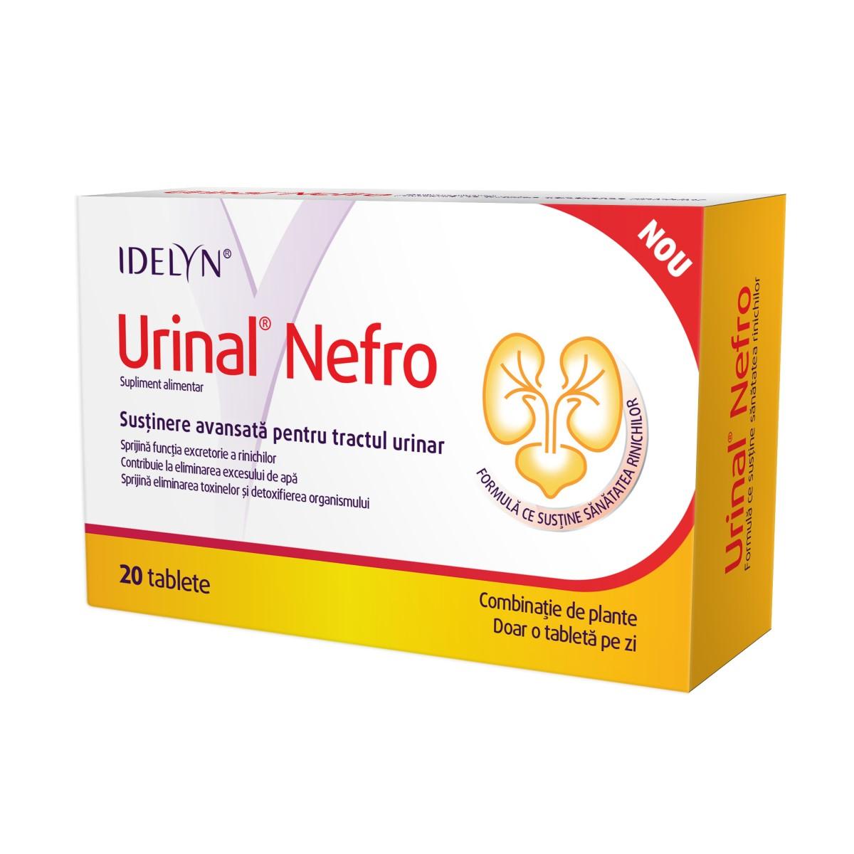 Urinal Nefro Idelyn, 20 tablete, Walmark drmax poza