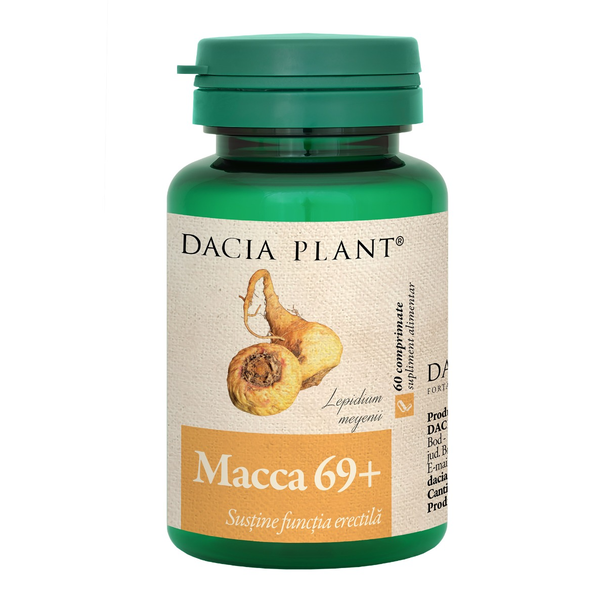 Macca 69+, 60 comprimate, Dacia Plant drmax.ro