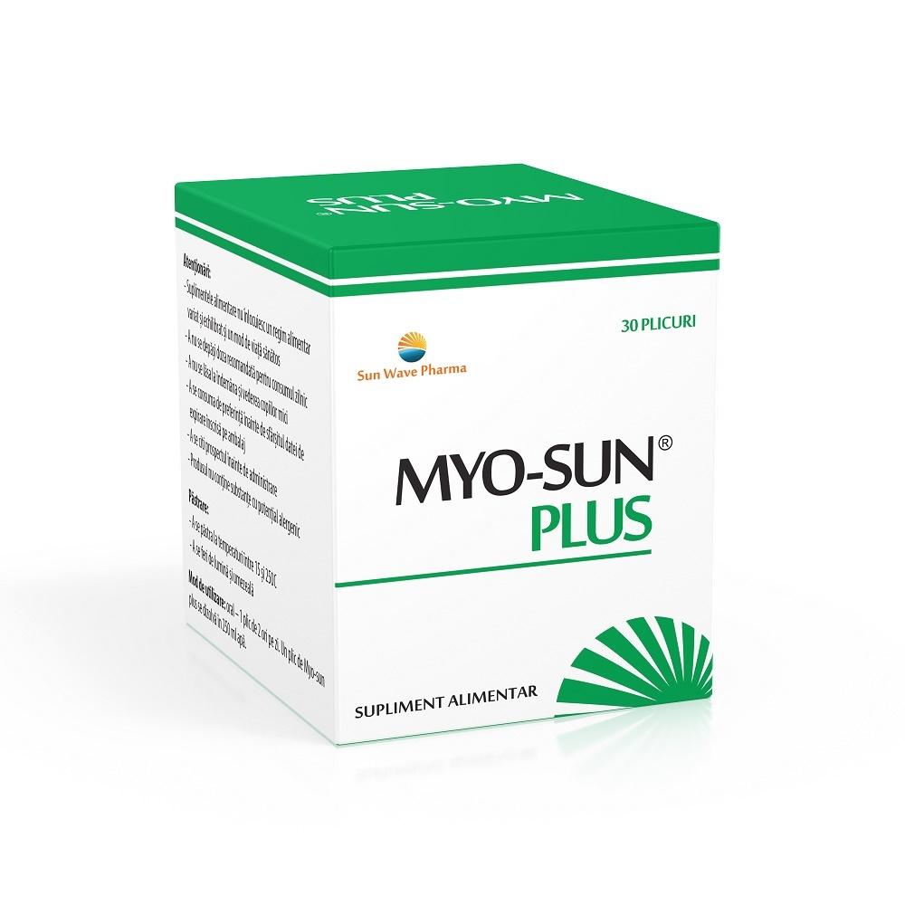 Myo-Sun Plus, 30 plicuri, Sunwave drmax.ro