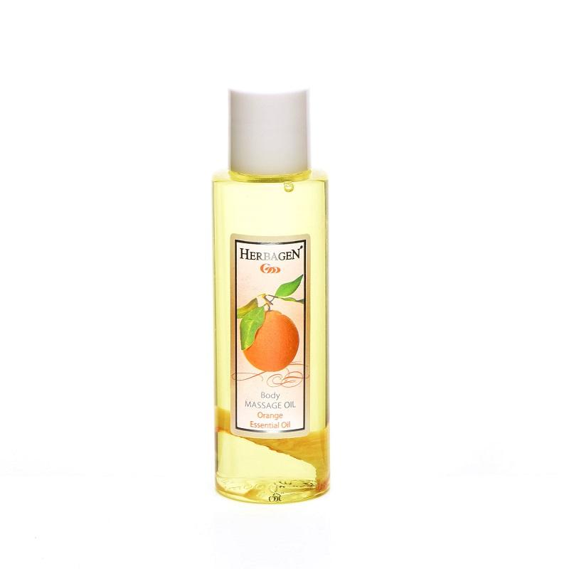 Ulei pentru masaj cu portocala, 100ml, Herbagen imagine produs 2021
