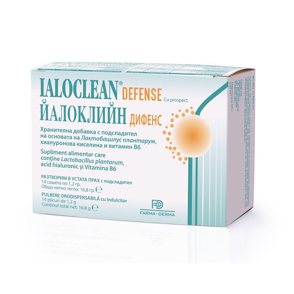 Ialoclean Defence, 14 plicuri, Farma-Derma drmax.ro