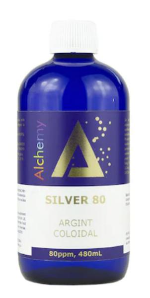 Argint Coloidal Silver 80ppm Pure Alchemy, 480 ml, Aghoras drmax poza