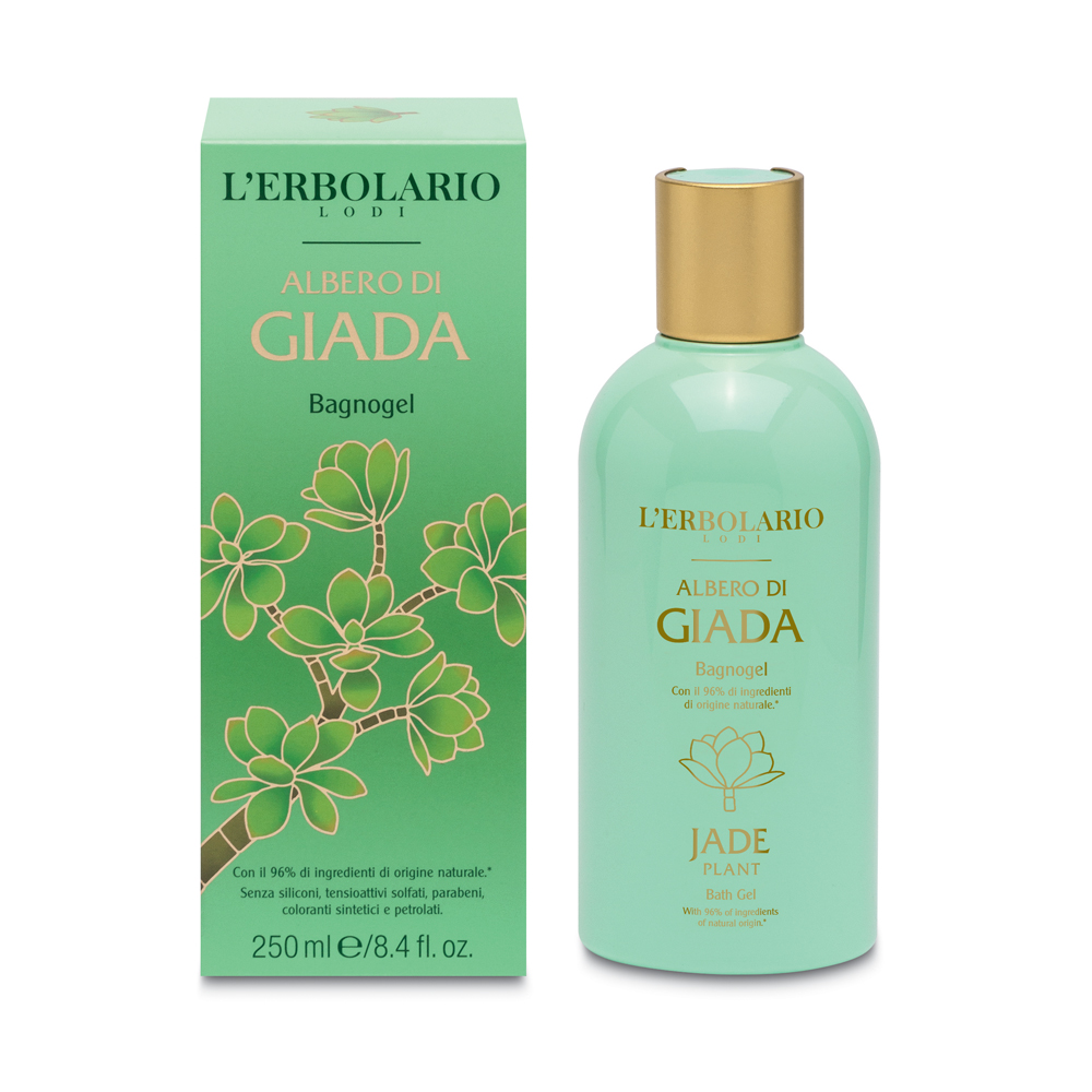 Gel de dus Jade, 250ml, L'Erbolario imagine produs 2021