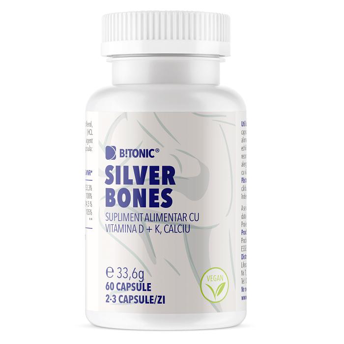 Silver Bones, 60 capsule, Bitonic imagine produs 2021