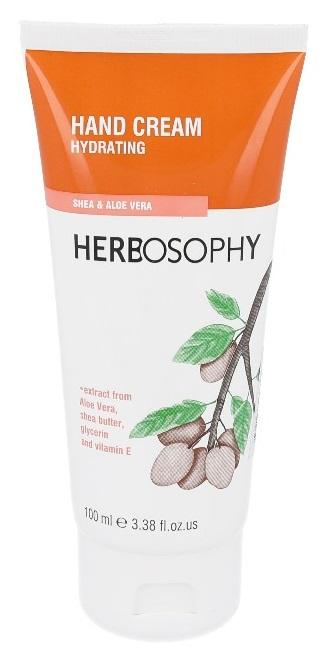 Herbosophy, Crema de maini cu glicerina, shea si aloe, 100ml