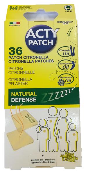 Plasturi impotriva tantarilor, 36 bucati, ActyPatch drmax poza