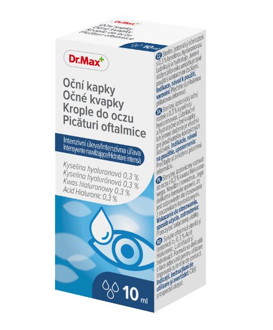 Picaturi oftalmice pentru hidratare intensa, 10ml, Dr.Max drmax poza