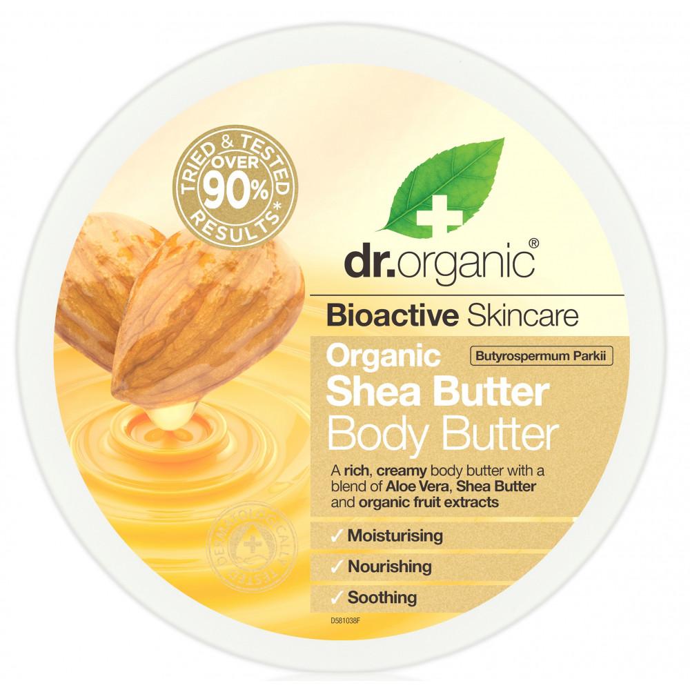 Dr Organic Shea Unt De Corp 200ml drmax.ro