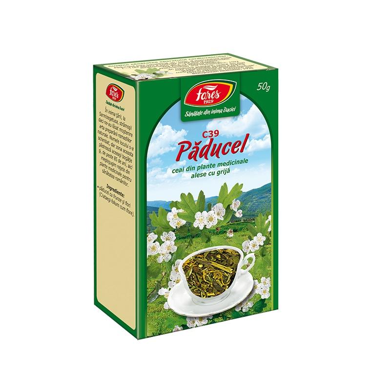 Ceai Paducel, 50 g, Fares drmax.ro