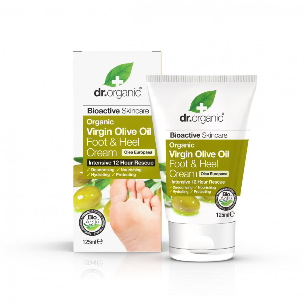 Dr Organic Ulei Masline Crema Picioare & Calcaie 125ml drmax poza