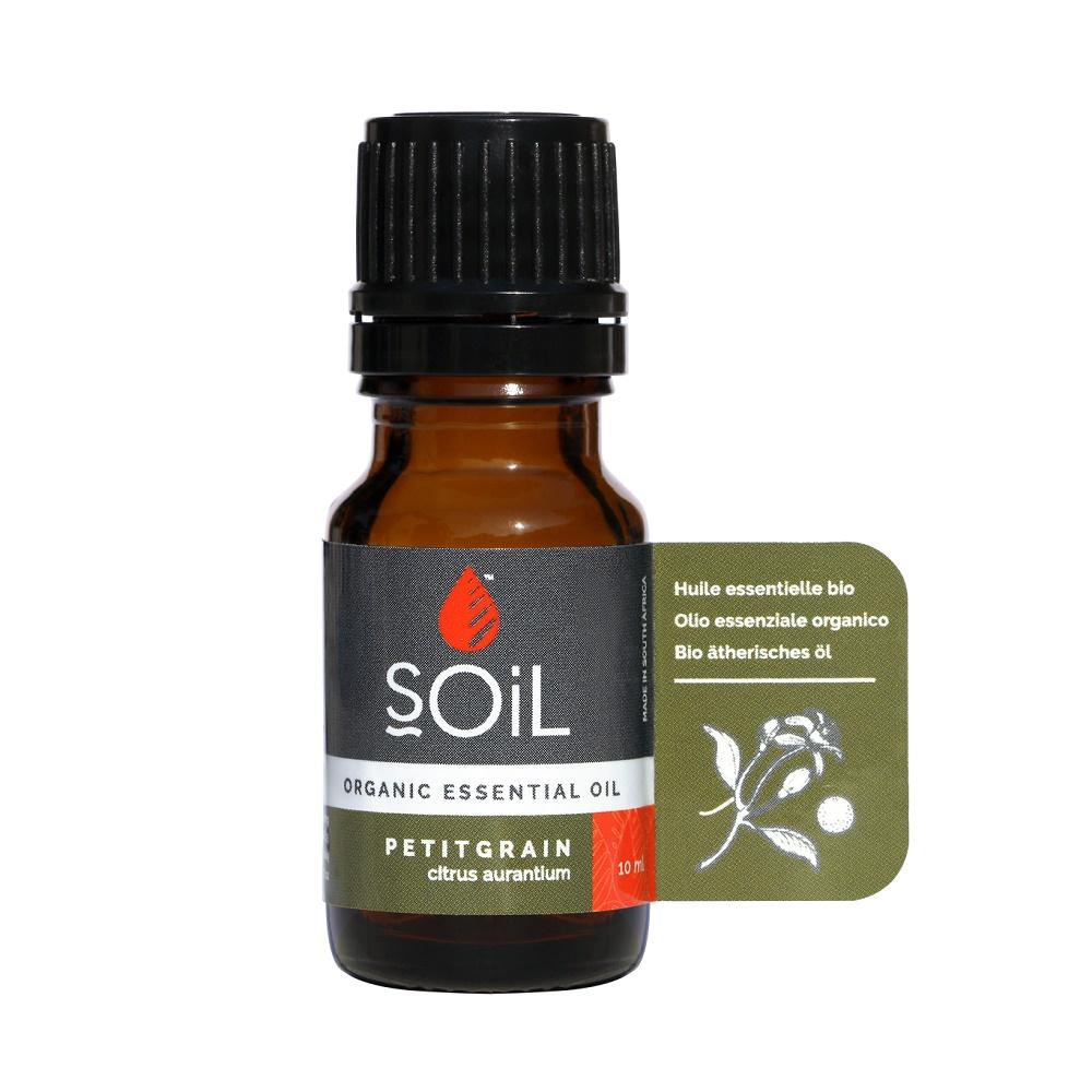 Ulei Esential Portocala Amara Pur 100% Organic, 10ml, Soil drmax.ro