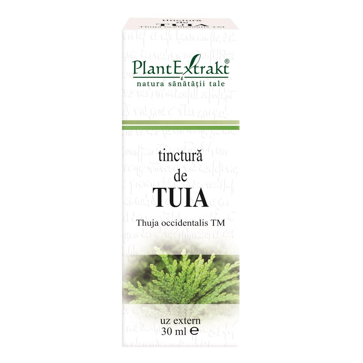 Tinctura de Tuia, 30ml, PlantExtrakt imagine produs 2021