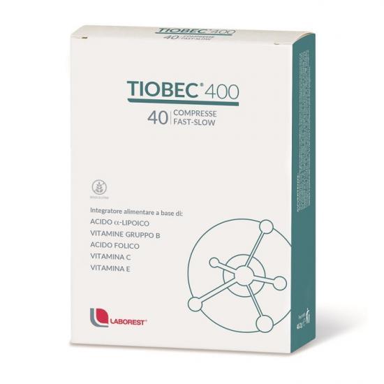 Tiobec 400, 40 comprimate, Laborest imagine produs 2021
