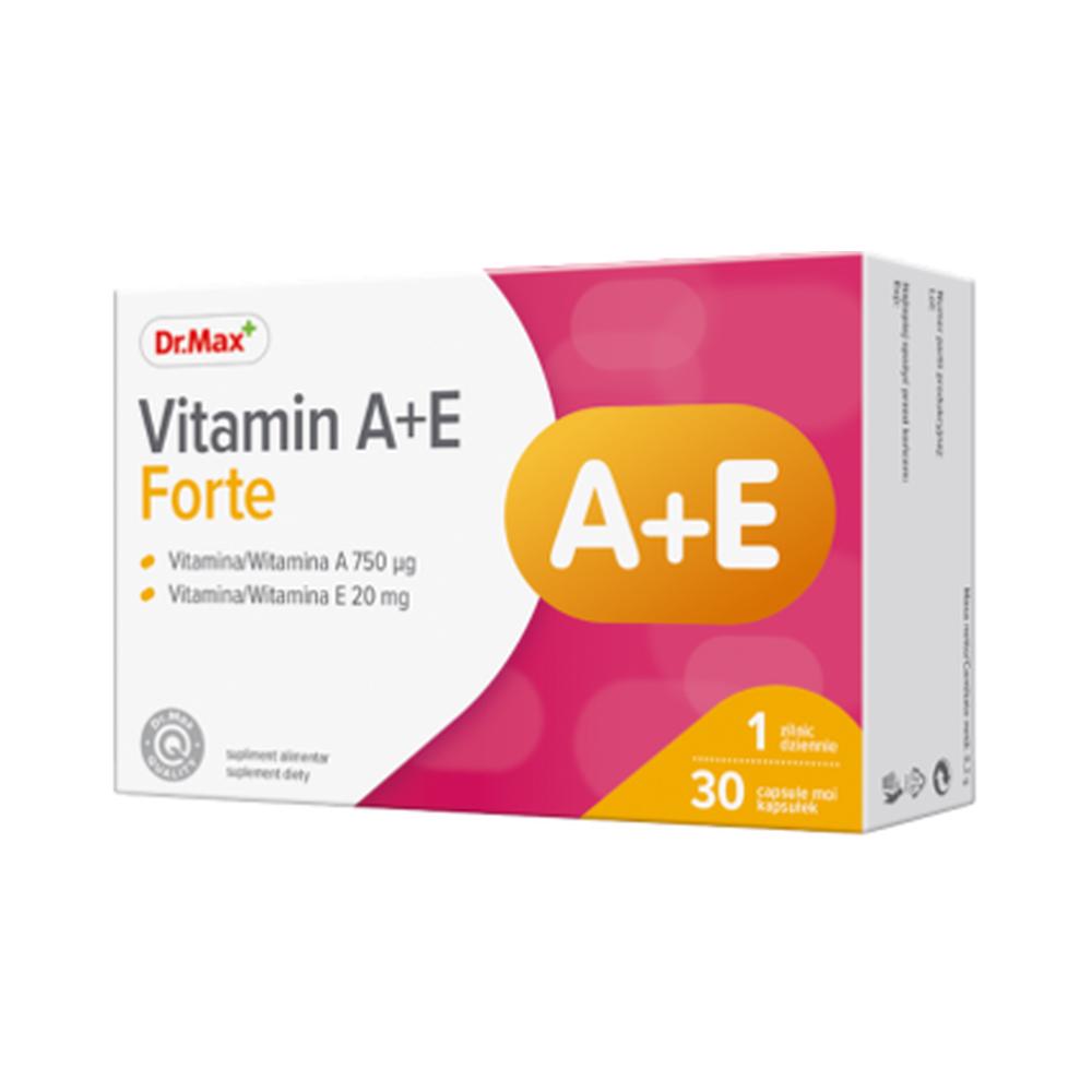Dr.Max Vitamina A+E Forte 30cps moi imagine produs 2021