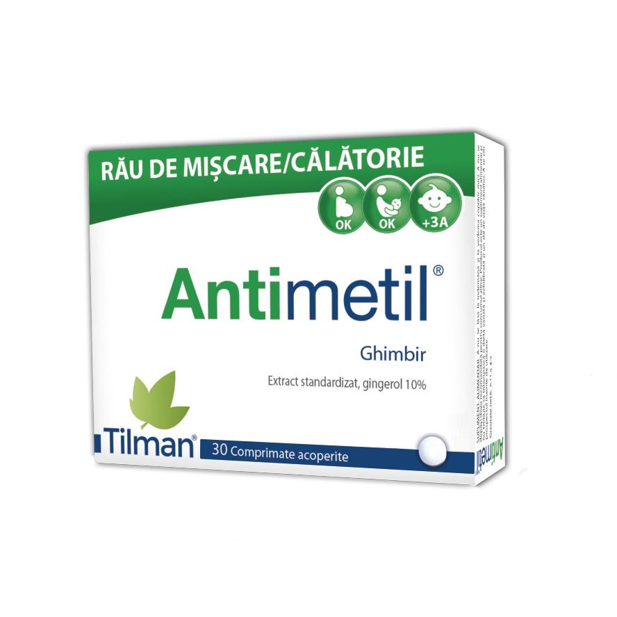 Antimetil, 30 comprimate, Tilman imagine produs 2021