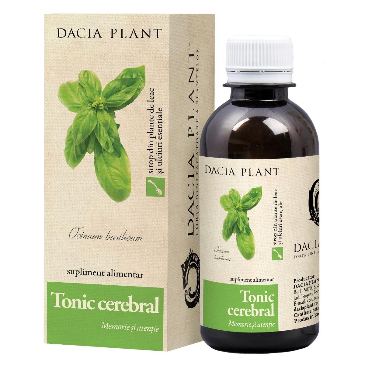Tonic cerebral, 200ml, Dacia Plant drmax.ro
