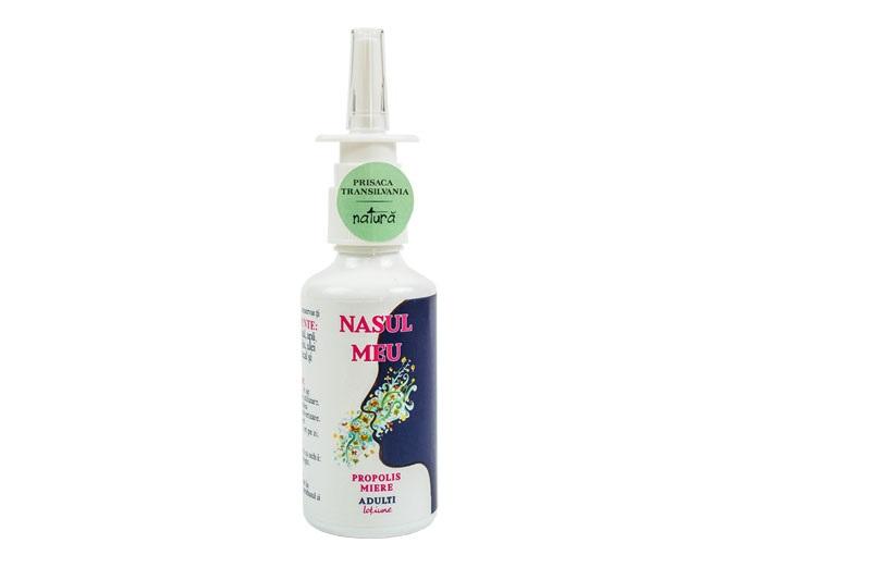 Spray de nas pentru adulti Nasul Meu, 50ml, Prisaca Transilvania drmax.ro